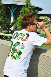 ナンバーフォトプリントTシャツ2