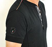 イタリア柄Tシャツ詳細