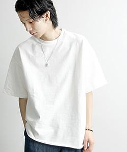 ビッグTシャツ白