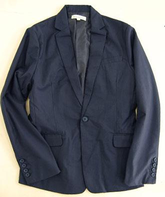 スーツ生地テーラードジャケット