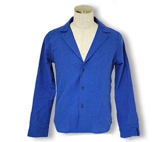 テーラード型シャツジャケット