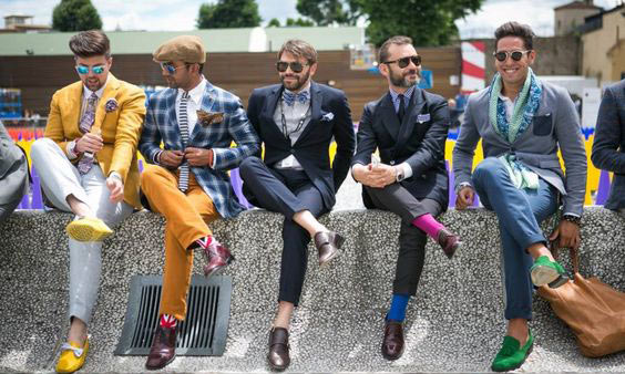 Italian street style men