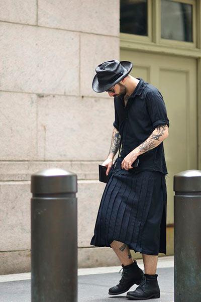 スカートファッションはダサい