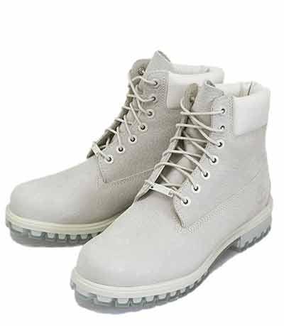 (ティンバーランド) Timberland白ブーツ(ホワイト)