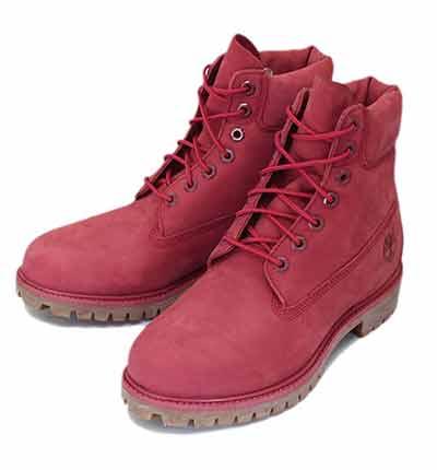 (ティンバーランド) Timberland赤ブーツ(レッド)