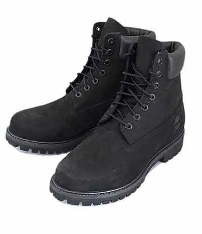 (ティンバーランド) Timberland 黒ブーツ(ブラック)