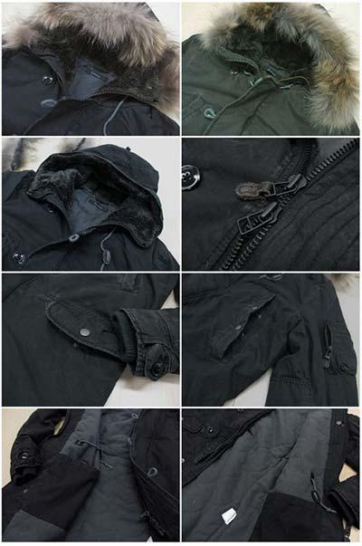 N-3Bジャケットの特徴