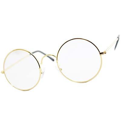 1,丸メガネについて