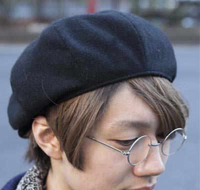 帽子とのコーデもオススメ