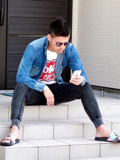 コーラTシャツで作るリゾカジスタイル