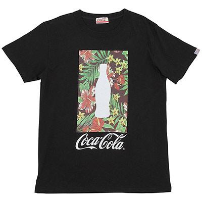 コカ・コーラ(Coca-Cola) Bottle in Flower Tシャツ