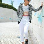 メンズファッション千鳥格子柄の着こなし方法