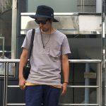 夏のアウトドアにおすすめなメンズファッションコーデ!