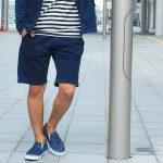 男性のハーフパンツファッション!夏のすね毛処理はどうするべき?