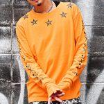 【秋のトレンド】スリーブロゴロンTがメンズファッションで流行る!