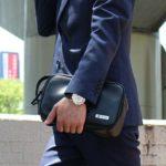 セカンドバッグのメンズおすすめブランド特集。今季注目の鞄は?